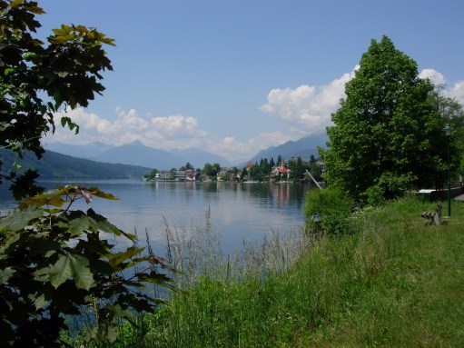 Lammersdorf: Millstatter am see (Lake Millstatt).