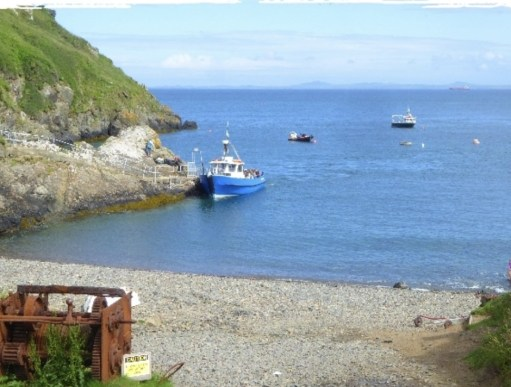 Kenny Birdringer: Martin's Haven ….Dale Princess…. the only boat for Skomer and Skokholm