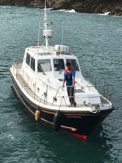 Kenny Birdringer: Dale Nelson... fast boat!