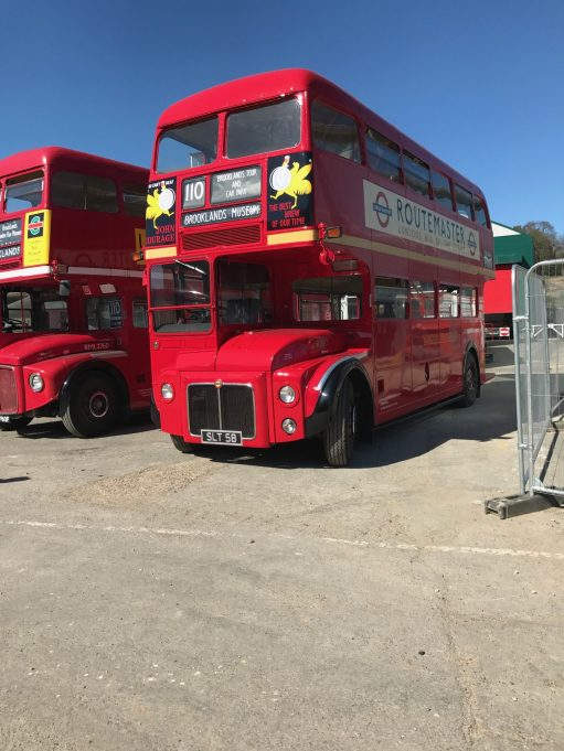 Brooklands: The prototype Routemaster.
