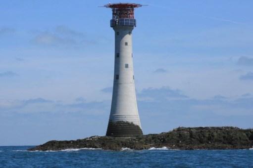 Little White Van: Smalls Lighthouse.