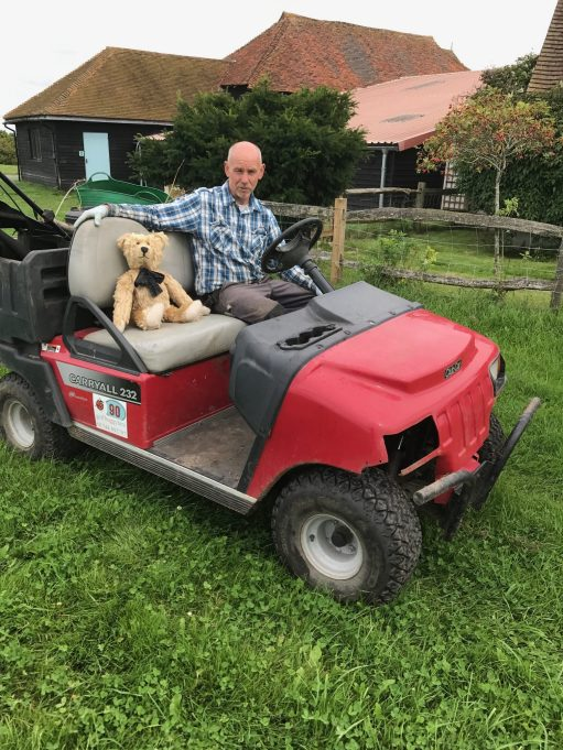Wintershall Manor: Alan. Gardener with transport.