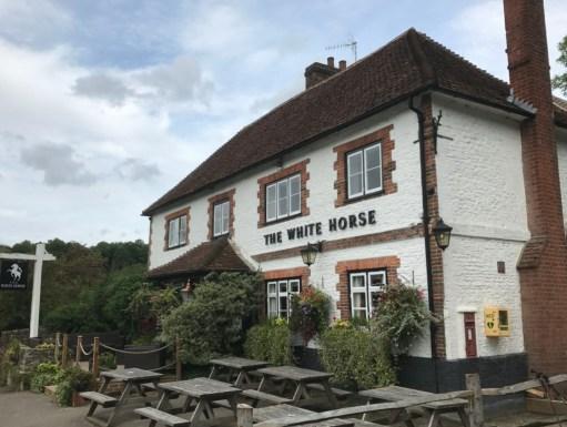 Wintershall Manor: White Horse, Hascombe.