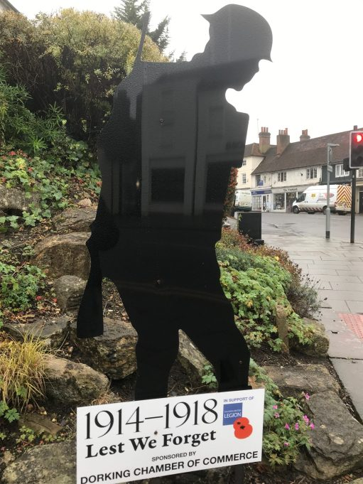Private Evan Davies: Lest We Forget. Dorking Chamber of Commerce.