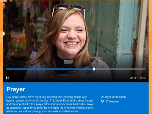 Small Talk Saves Lives: Rev Kate Bottley on Radio 2.
