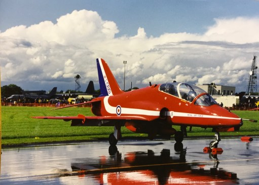 I Died Today: But as we all know. The sun will always follow the rain. One day. When it does, it's a photographers dream. Best picture of a Red Arrow ever.