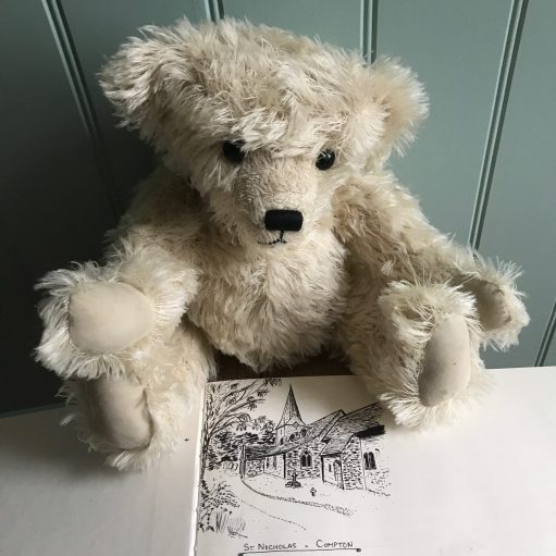Little White Bear: Compton, Surrey (a Bobby drawing).
