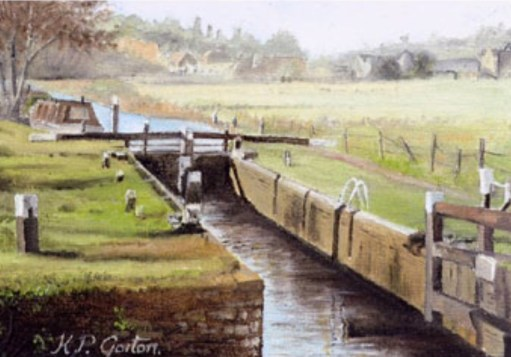 Bobby's Girl: Cattershall Lock.