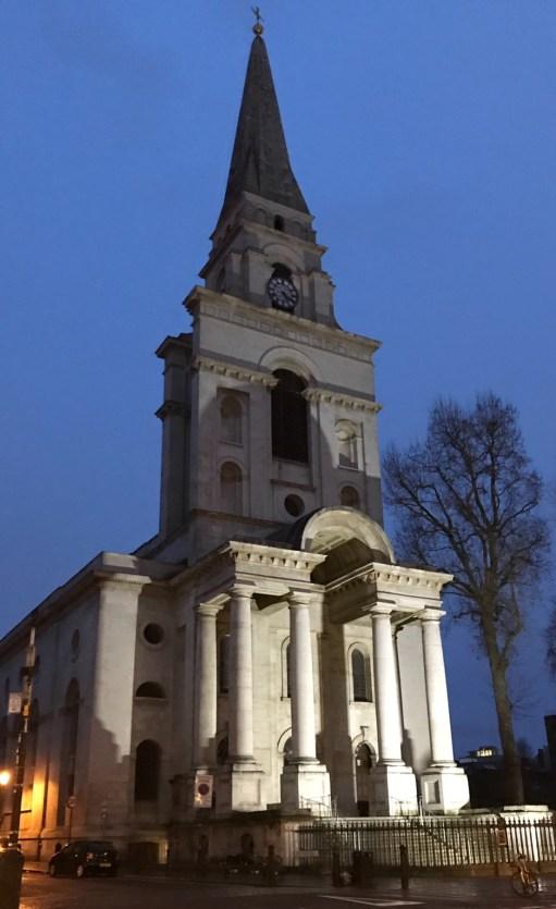 Christmas Day. Christ Church Spitalfields.