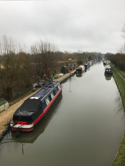 Apricot Village: Oxford Canal. Aynho Wharf.