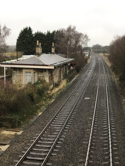 Apricot Village: Aynho Park railway station. Closed 1963.
