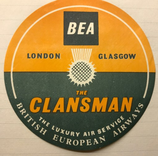Trevor's Stickies: BEA The Clansman.