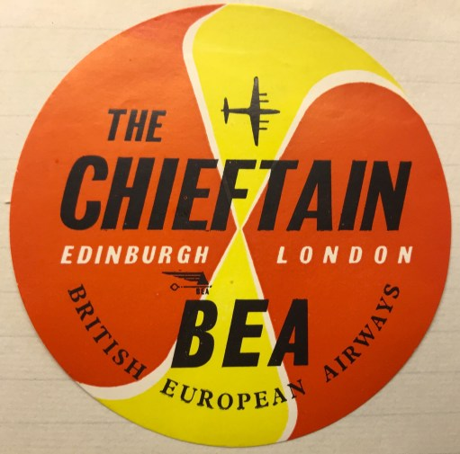Trevor's Stickies: BEA The Chieftain.