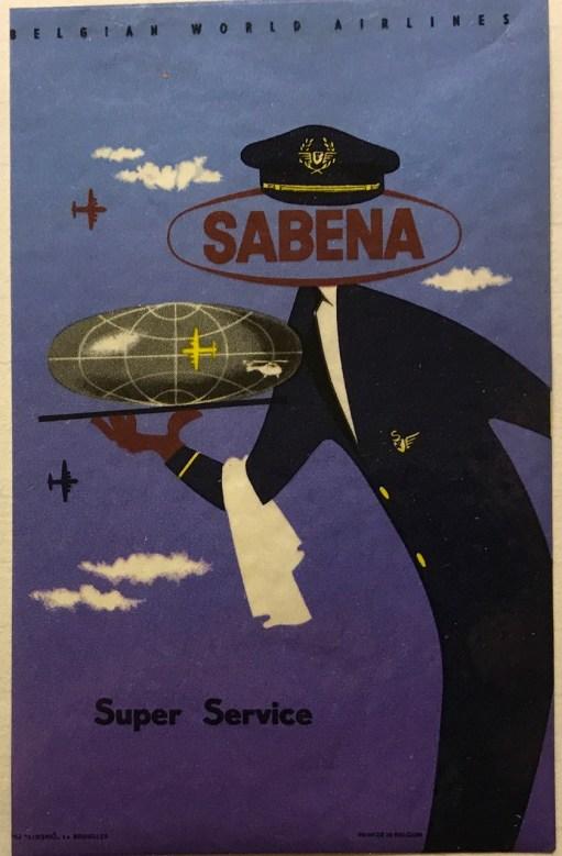 Trevor's Stickies: Sabena Super Service.
