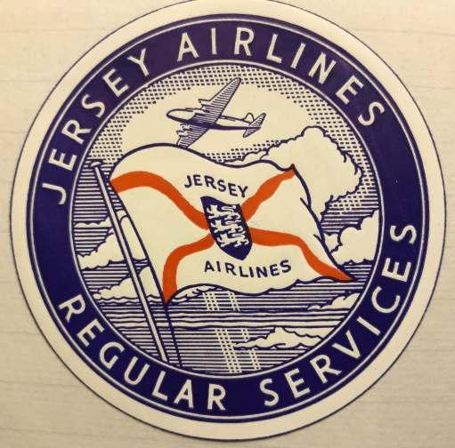 Croydon Airport: Jersey Airlines Regular Service.