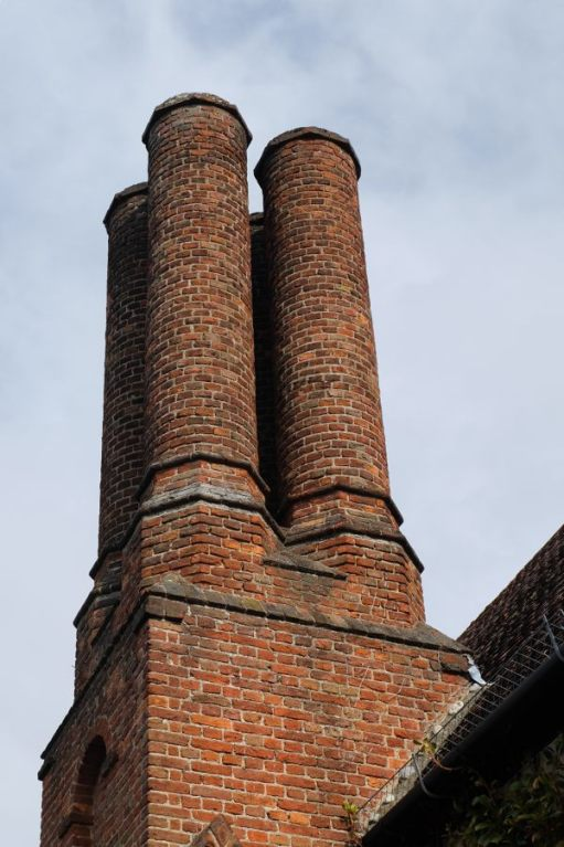 Just Two Hours: Old chimneys.