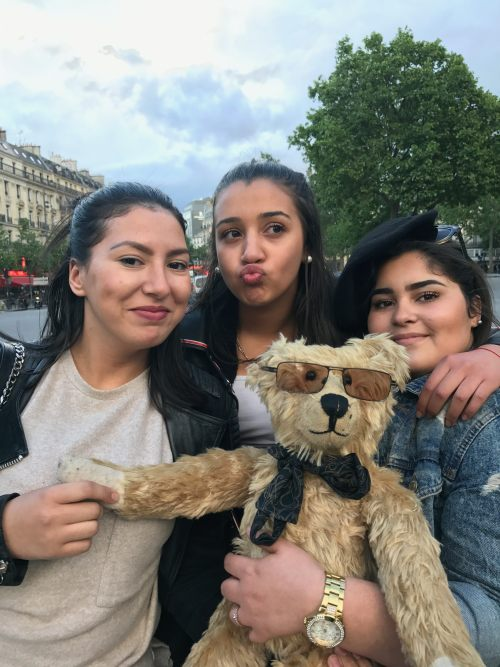 Paris: And for mademoiselles wanting to meet famous bears.