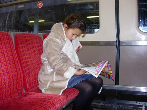 Special One: Princess Jasmine on South West Trains.