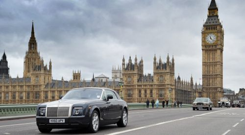 Special One: Over Westminster Bridge. Seen here third in line.