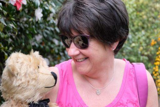 "Dunsborough Park Gardens. ""Hello Linda Utting"". Bobby's workfriend from days gone by."