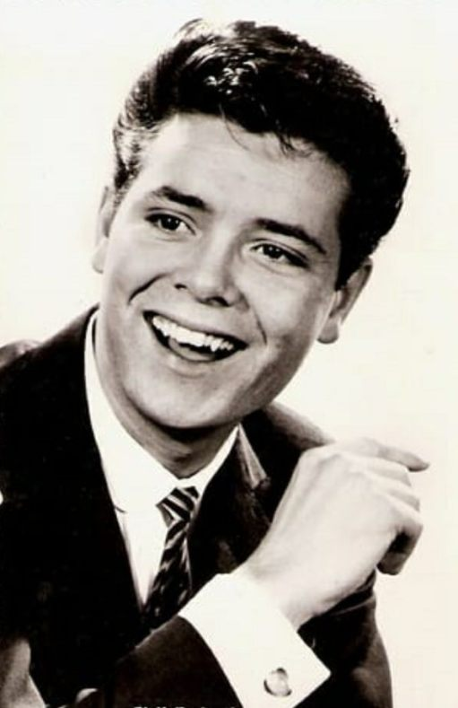 A young Sir Cliff Richard.