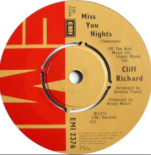 "Sir Cliff Richard: ""Miss You Nights"" a Fairfield Hall favourite:"