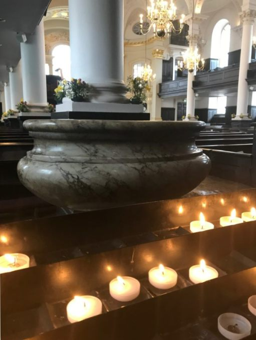 Sir Cliff Richard: In St Martin's in the Fields. To Diddley and all those we have lost and those who need a helping hand.