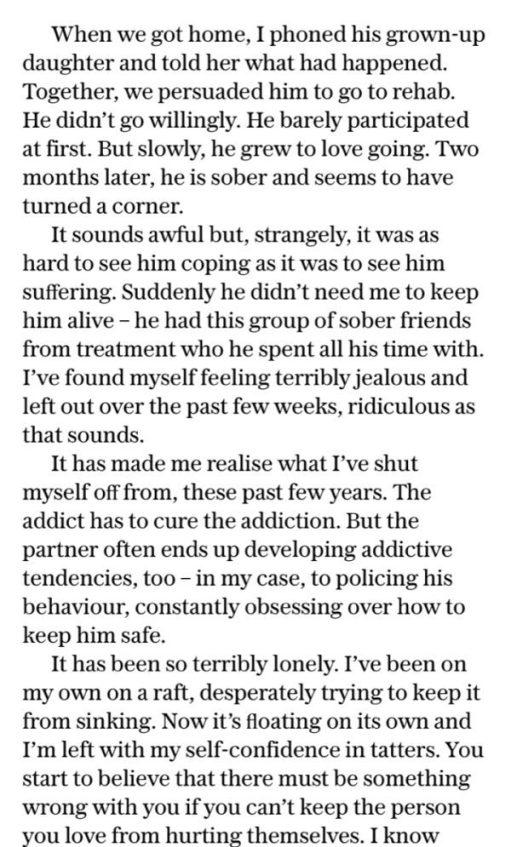 Alcoholic: Telegraph Article.