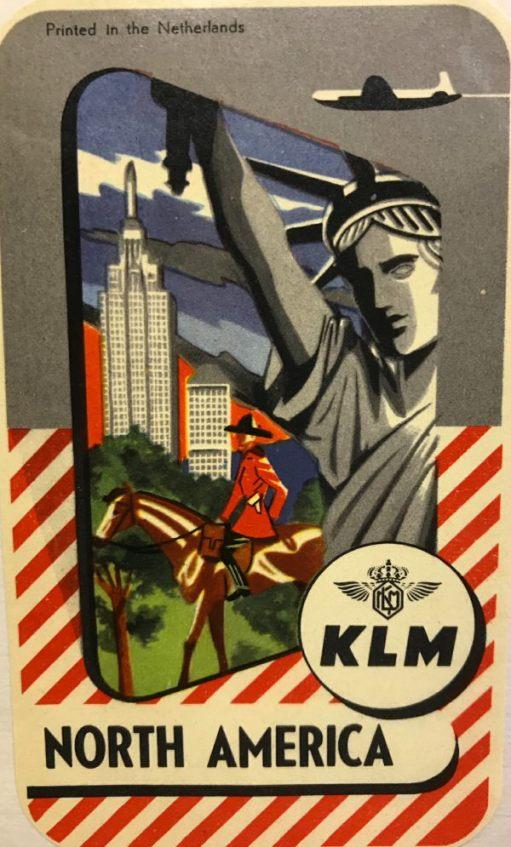 Trevor and Henry: KLM to North America. Netherlands