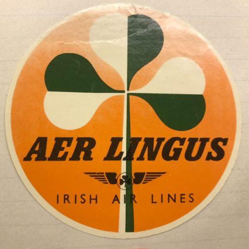 Trevor and Henry: Aer Lingus. Irish Air Lines. Ireland