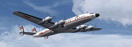 Trevor and Henry: Another TWA Jetstream in Flight.