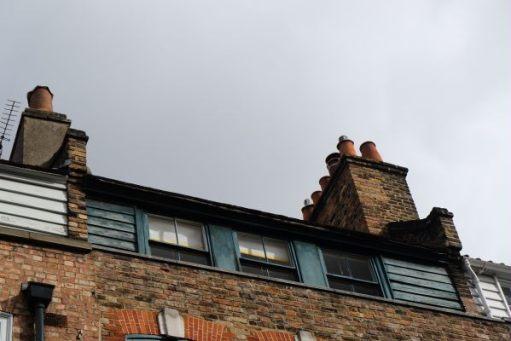 Amber's flat at 31 Fournier Street.