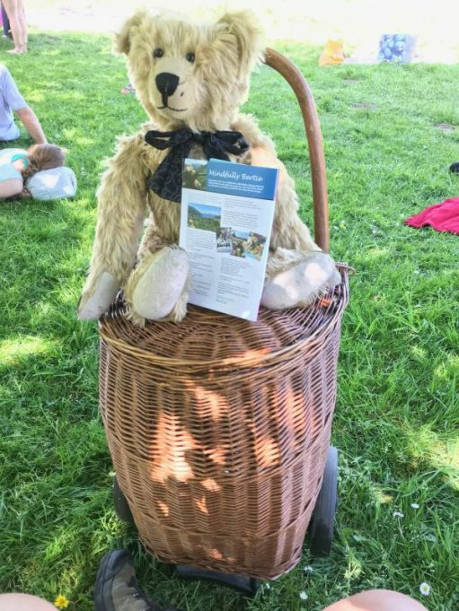 Teddy Bears' Picnic: And Bobby 2 came too.