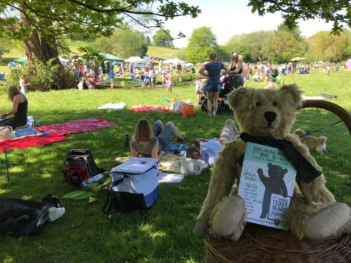 Teddy Bears' Picnic: And here they come.