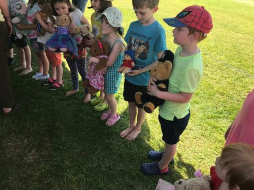 Teddy Bears' Picnic: Best dressed.