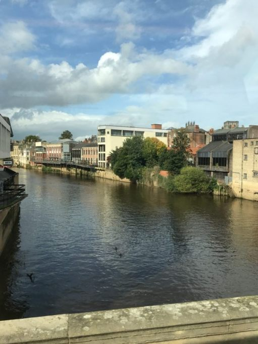840 to Whitby: York. River Ouse.