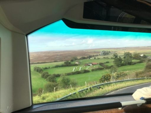 840 to Whitby: North Yorks Moors.