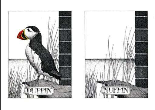 Nuffin: Simon Drew.
