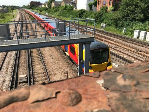 The Footbridge: This brand new. From Siemens. But soon to be withdrawn...