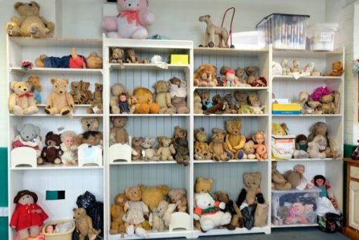 Missed You Bertie: Bears waiting for treatment.