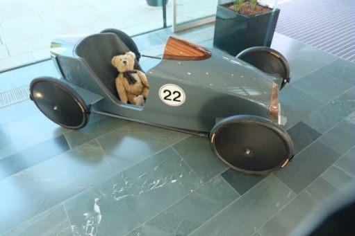 Rolls-Royce: racing soapbox.