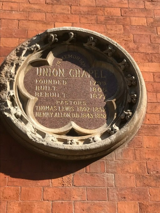 Lonnie Donegan: Lighting a Candle for Diddley - Union Chapel plaque.