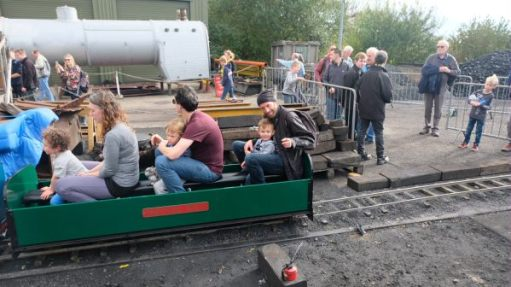From a Railway Carriage: Miniature Trains...