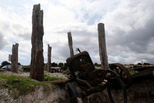 Great Dorset Steam Fair: The battlefield.
