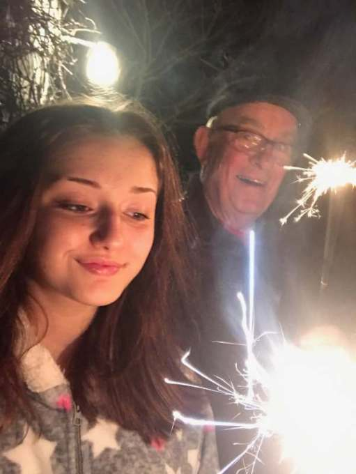 Landscape Photographer. Lighting a Candle for Diddley - Or, indeed, a sparkler!