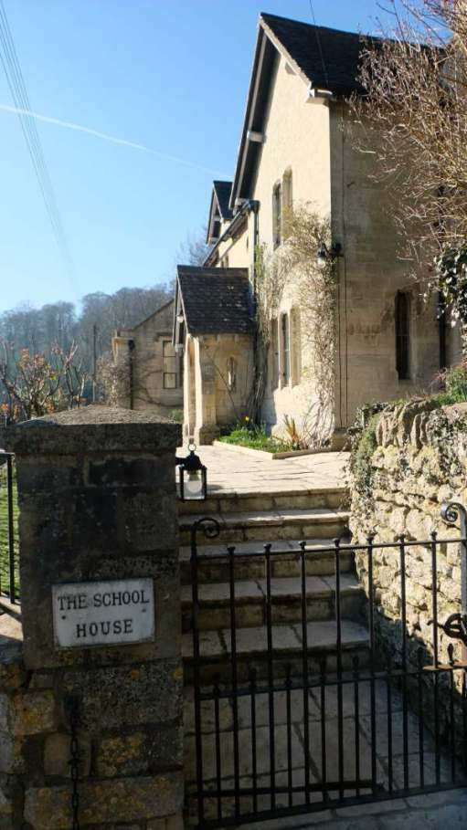 Cotswold Reverie: Diddley's (and Laurie Lee's) school at Slad. Now a private residence.