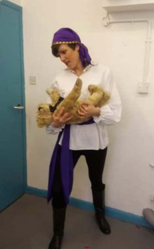 Goldilocks and the Three Bears: Antonio, the Romany Prince (Jade).