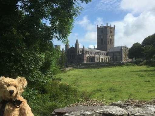Walk from St David's: Church and churchyard.