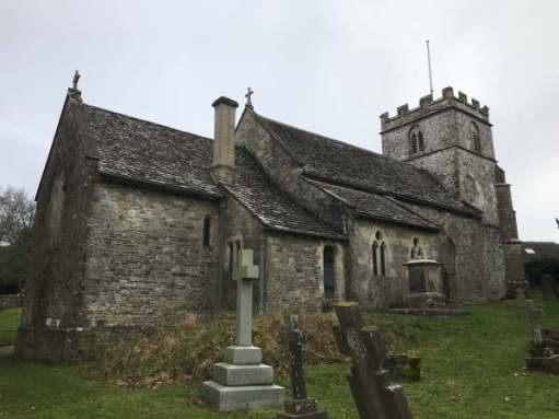 Cotswold Reverie: St Andrew's Church, Miserden.