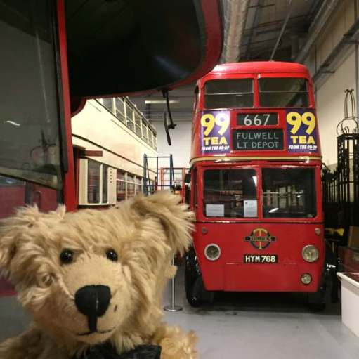 And this trolleybus at the London Transport Museum, Covent Garden.